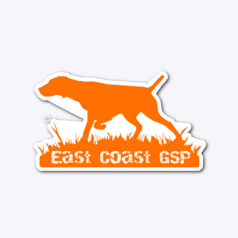 East Coast Gsp Blaze Orange Logo Standard T-Shirt Front