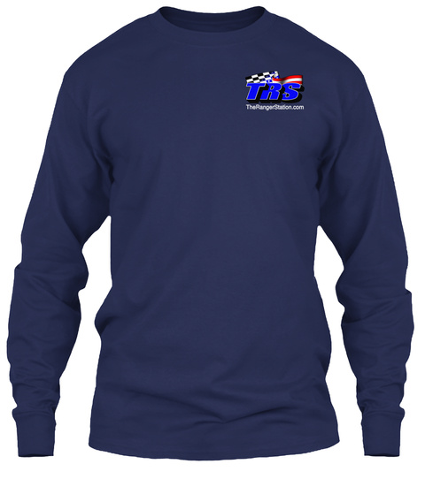 Yes Therangerstation.Com Navy T-Shirt Front
