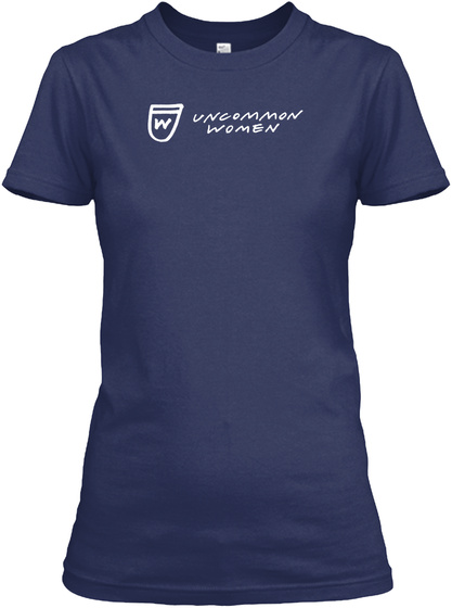 W Uncommon Women Navy Women's T-Shirt Front