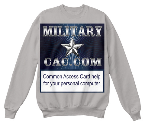 Military Cac Sweatshirt Light Steel  Sweatshirt Front