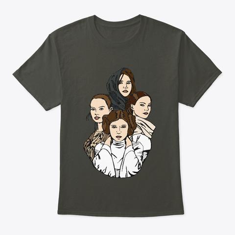 Ladies Of The Stars Smoke Gray T-Shirt Front
