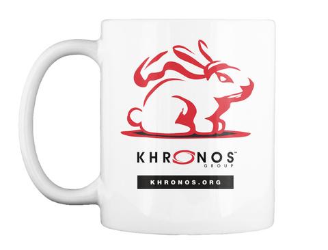 Khronos Group Khronos.Org White Mug Front