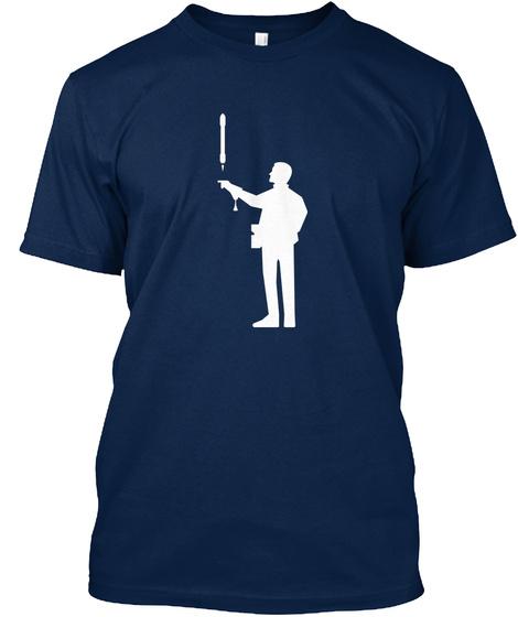 Falconer 3 Man [Int] #Sfsf Navy T-Shirt Front