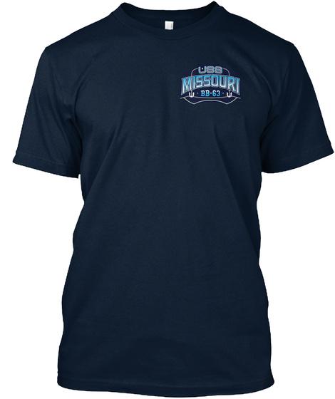 Missouri  Bb 63 New Navy T-Shirt Front