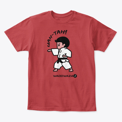 Uah Tah! For Boys By Wado Waza Classic Red T-Shirt Front