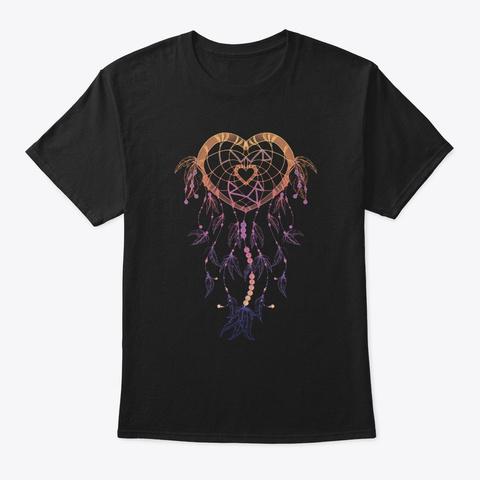 Bcr Dream Catcher Bobcats Black T-Shirt Front