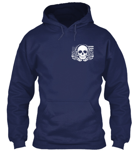 Armed Citizens Of Alabama! Navy Sweatshirt Front