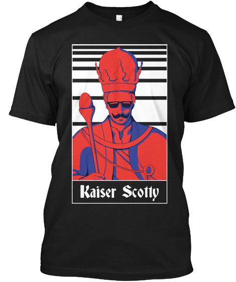 Kaiser Scotty Black T-Shirt Front