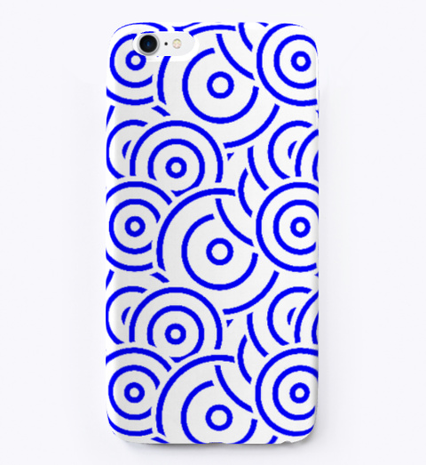 Abstract Circle Pattern I Phone Softcase Standard T-Shirt Front