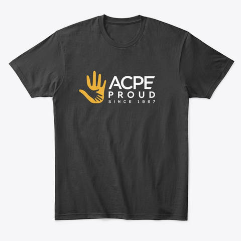 #Acp Eproud Campaign Store Black T-Shirt Front