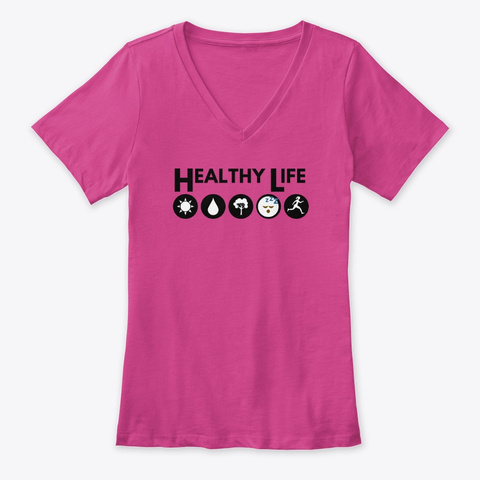 Healthy Life Sun To Run Tee Berry T-Shirt Front