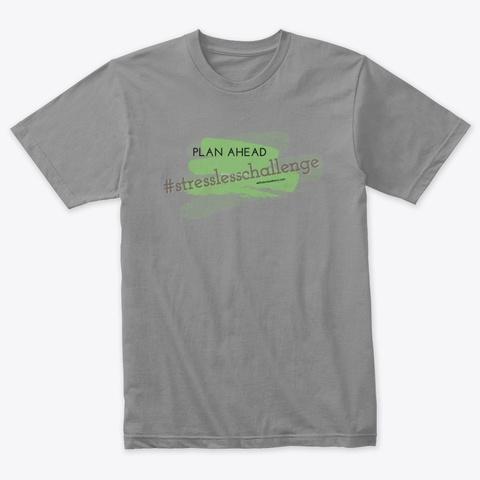 #Stresslesschallenge Premium Heather T-Shirt Front