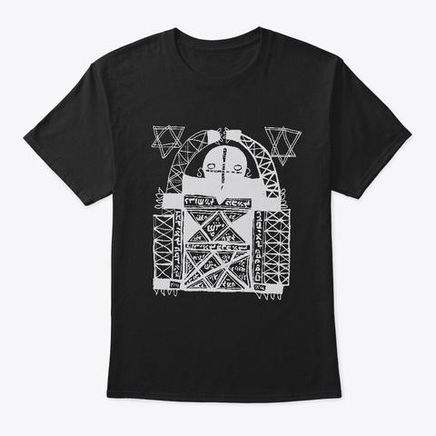 Kabbalah Angel Black T-Shirt Front