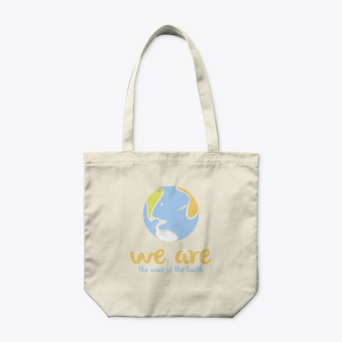 We Are / Eco Natural T-Shirt Front