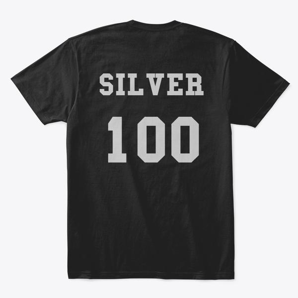 Silver 100 Comfort Tee