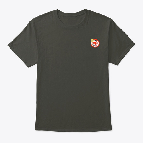Not Crabby Mug N Merch Smoke Gray T-Shirt Front