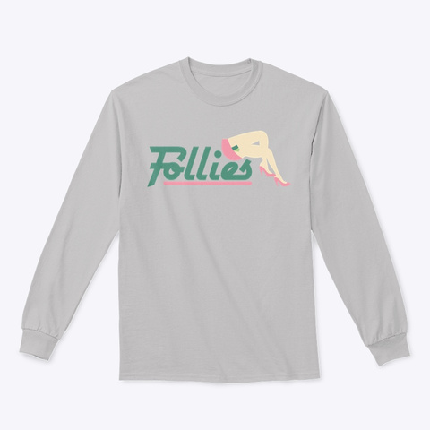 Epohstra: The Ode To Follies 001 Sport Grey T-Shirt Front