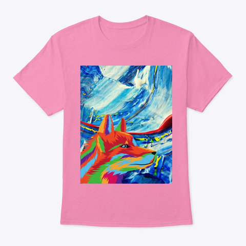 Shadow Of The Mountain Pink T-Shirt Front