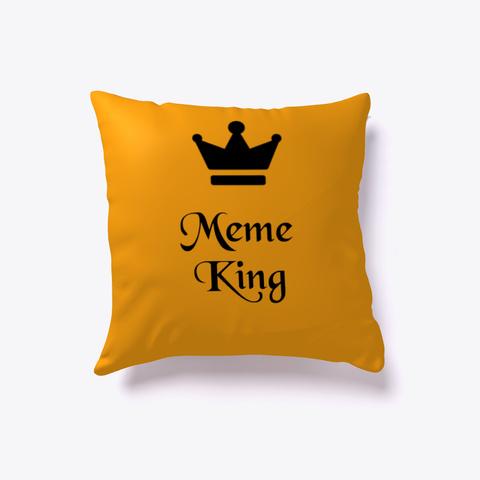 Meme King Articles Orange T-Shirt Front
