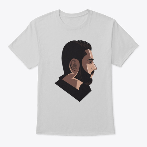 Mohammad Farik Portrait Light Steel T-Shirt Front
