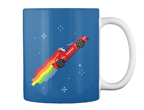 Nyan Roadster Mug [Usa] #Sfsf Dk Royal Mug Back