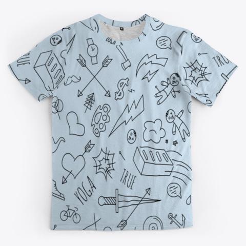doodle transparent cloth face mask tie dye shirts