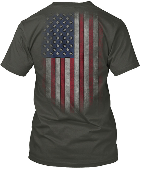Veteran Pop Smoke Gray T-Shirt Back