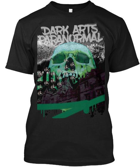 Dark Arts Paranormal Black Camiseta Front