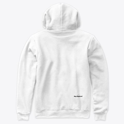 Boyfriend Material (Trans Flag) White T-Shirt Back