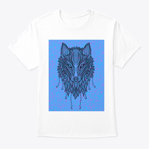 Wolf In Disguise White T-Shirt Front