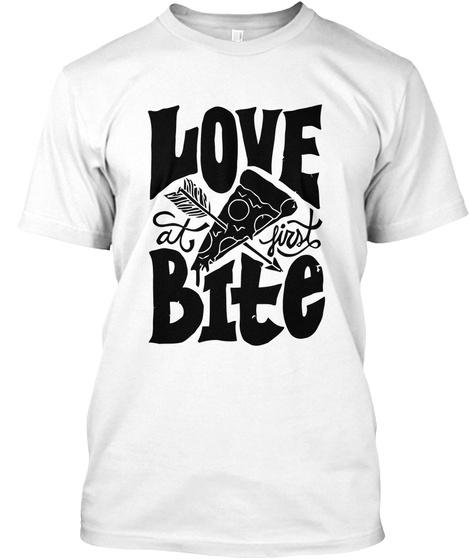 Love Bite White T-Shirt Front