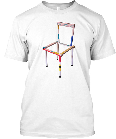 The Original Worst Chair White T-Shirt Front