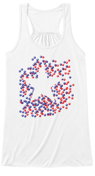 Na White Women's Tank Top Front
