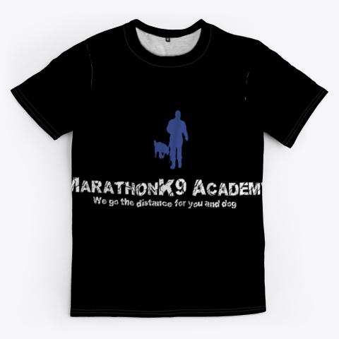 Classic Marathon K9 Black T-Shirt Front