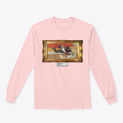 The Devils Children Light Pink T-Shirt Front