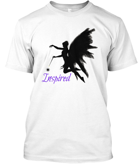 | Inspired T Shirt | White Kaos Front