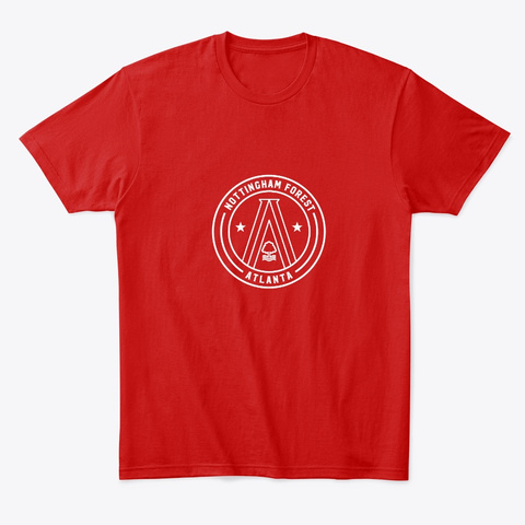 Big Wes A Town Tee Classic Red T-Shirt Front