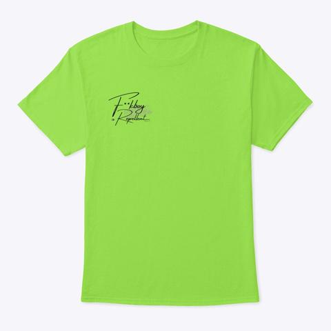 Signature F**Kboy Repellent T Shirt  Lime T-Shirt Front