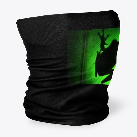 Rana Nocturna Black T-Shirt Side