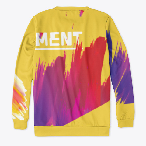 Out Of Element Yellow T-Shirt Back