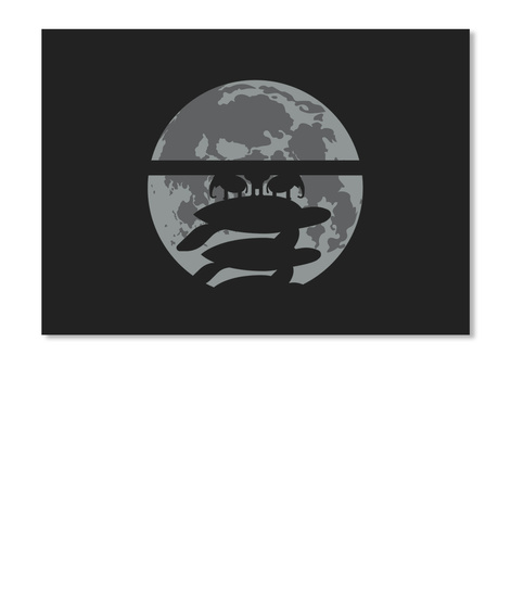 Flat Earth Eclipse 3 Sticker [Int] #Sfsf Black Pegatina Front