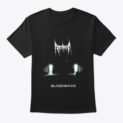 Blackwave Black T-Shirt Front