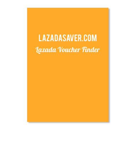 Lazada Saver.Com Lazada Voucher Finder Athletic Gold Sticker Front