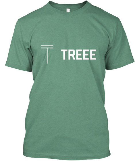T Treee Green T-Shirt Front