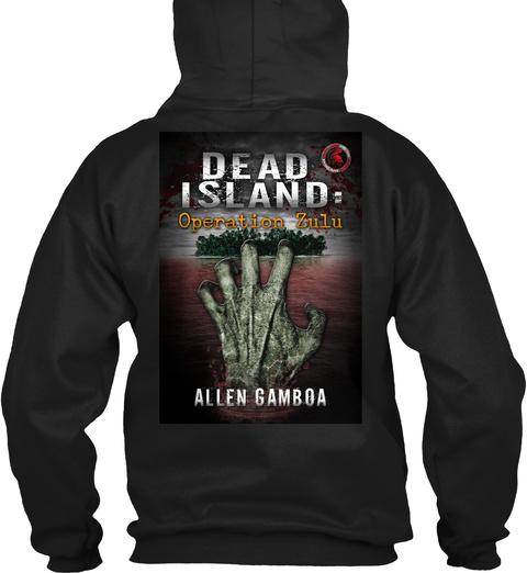 Dead Island Operation Zulu Allen Gamboa Black T-Shirt Back