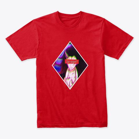 Nezuko The Savage Red T-Shirt Front