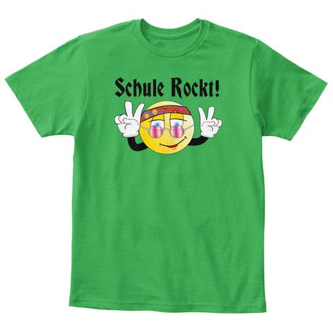 Schule Rockt! Ellesson Irish Green T-Shirt Front