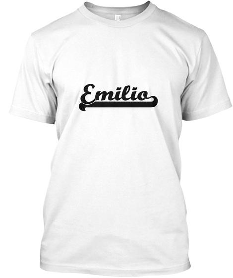 Emilia White T-Shirt Front