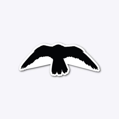 Black Owl Standard T-Shirt Front