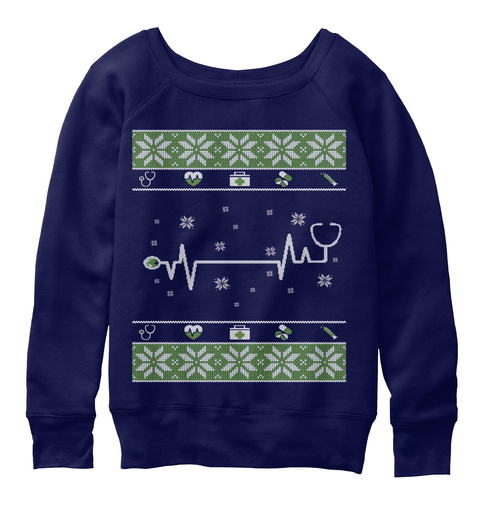 Doctor Nurse Ugly Christmas Sweater Products From Christmas